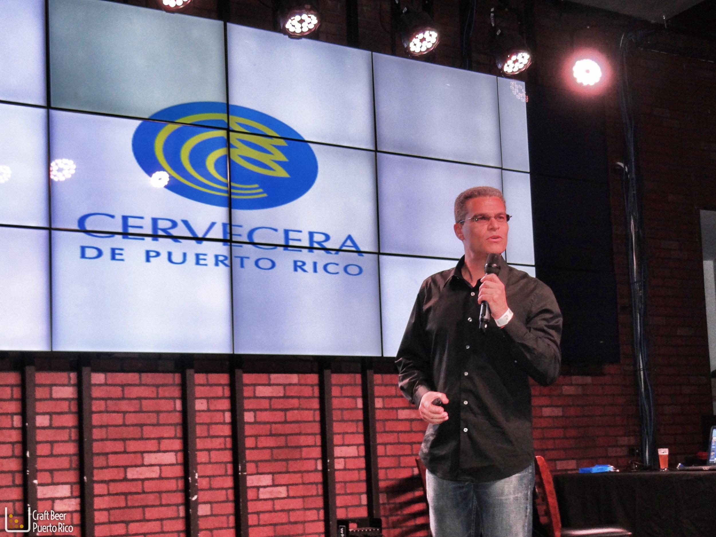Carlos Agelvis, maestro cervecero de Cervecera de Puerto Rico