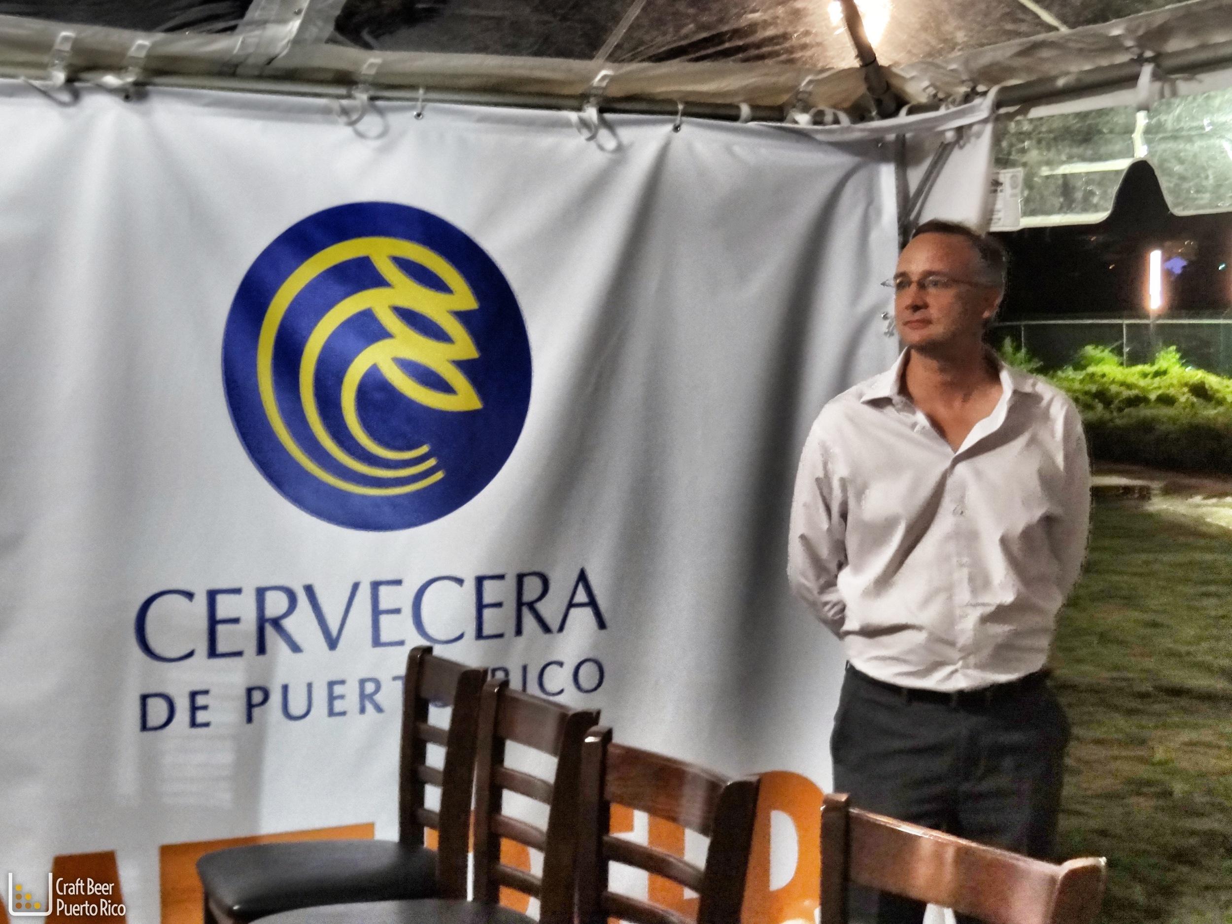 Daniel Stammberger, maestro cervecero de la Cervecera de Puerto Rico