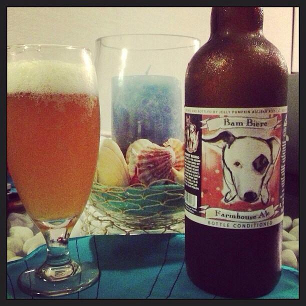 Jolly Pumpkin Bam Bière Farmhouse Ale vía @pablopr77