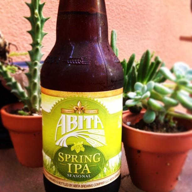 Abita Spring IPA - @natapaola en Instagram