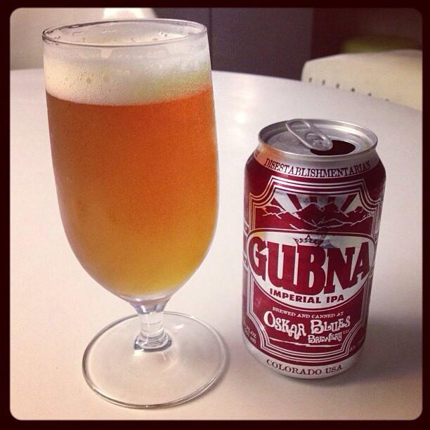 Gubna Imperial IPA vía @ramonesbrew en Instagram