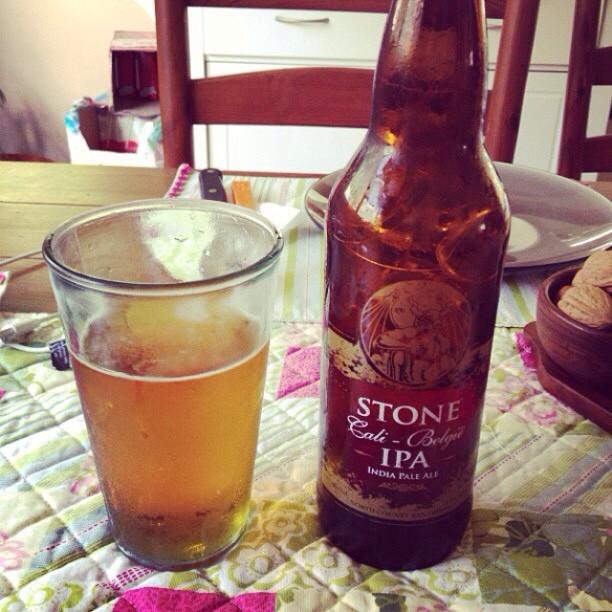 Stone Cali-Belgique IPA vía @mauricioh77 en Instagram