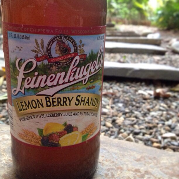 Leinenkugel's Lemon Berry Shandy vía @natapaola en Instagram