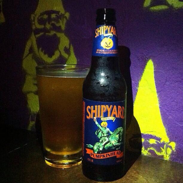 Shipyard Punpkinhead Ale vía @apaman8 en Instagram
