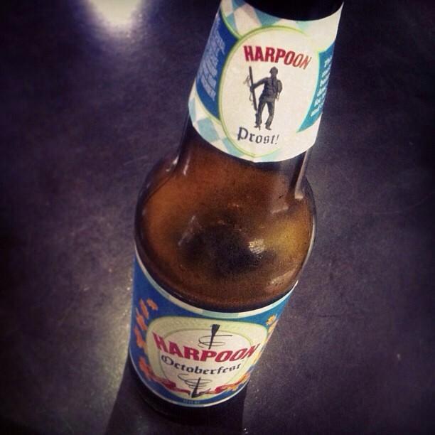Harpoon Octoberfest vía @lornajps en Instagram