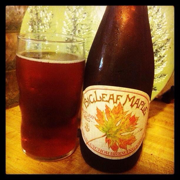 BigLeaf Maple Autumn Red Ale via @lornajps
