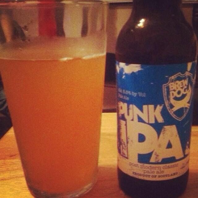 BrewDog Punk IPA vía @ashi274 en Instagram