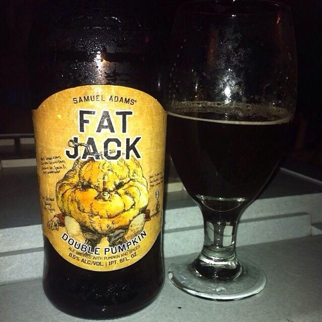Samuel Adams Fat Jack Double Pumpkin vía @apaman8