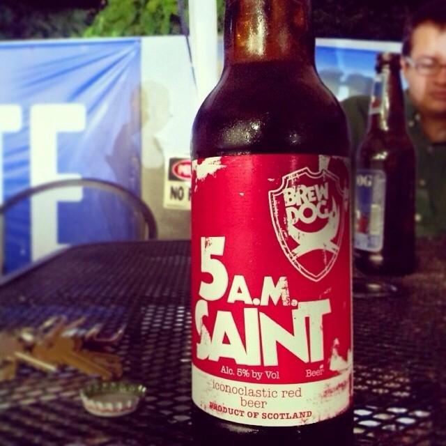 Brew Dog 5am Saint vía @bumbax en Instagram