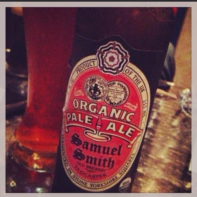 Samuel Smith Organic Pale Ale vía @thecraftbeergal en Instagram