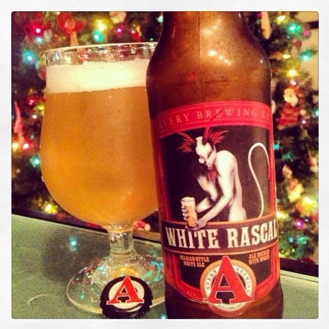 White Rascal Witbier vía @thecraftbeergal en Instagram