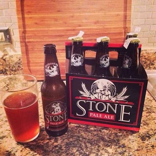 Stone Pale Ale vía @mauricioh77 en Instagram