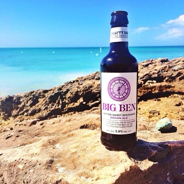 Big ben Brown Ale vía @manuhola en Instagram