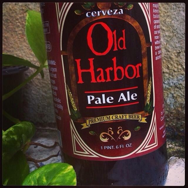 Old harbour Pale Ale vía @lornajps en Instagram