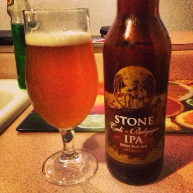 Stone Cali-Belgique IPA vía @dehumanizer en Instagram