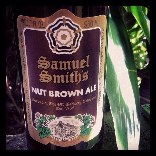 Samuel Smith's Nut Brown Ale vía @lornajps en Instagram