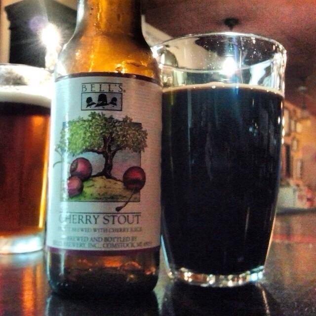 Bell's Cherry Stout vía @valdorm