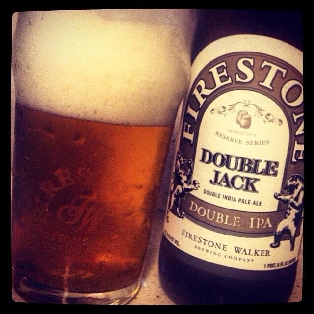 Firestone Double Jack Double IPA vía @thecraftbeergal en Instagram
