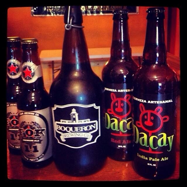 Cervezas de Puerto Rico - Fok Premium Ale, Boquerón Brewing y Dacay IPA vía @thecraftbeergal en Instagram