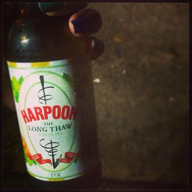 Harpoon The Long Thaw White IPA vía @lornajps