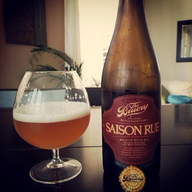 The Bruery Saison Rue vía @eljinete99 en Instagram