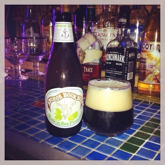 Anchor Brewing Bock vía @aibonitobeergarden en Instagram