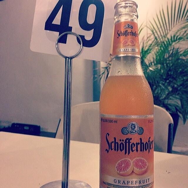Schöfferhofer Grapefruit vía @mismarii en Instagram