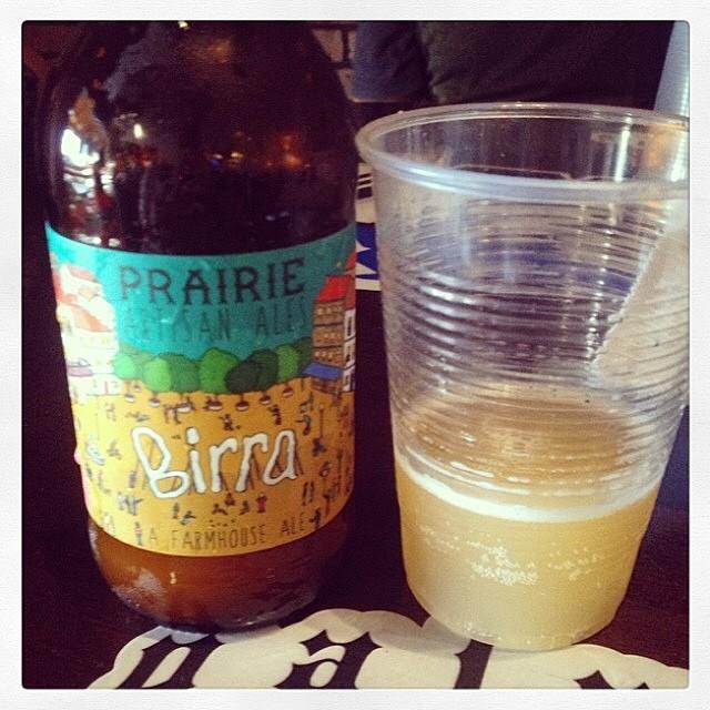 Birra Farmhouse Ale de Prairie Artisan Ales vía @thecraftbeergal en Instagram