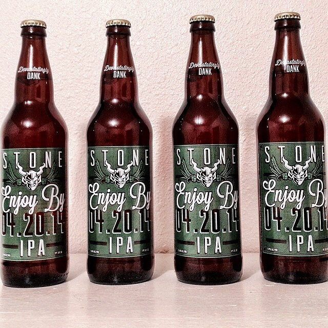 Stone Enjoy by 4.20.14 IPA vía @dustinb0083