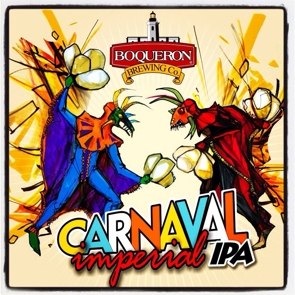 Imagen: Boquerón Brewing - Arte: Nelson Binet y ManWe