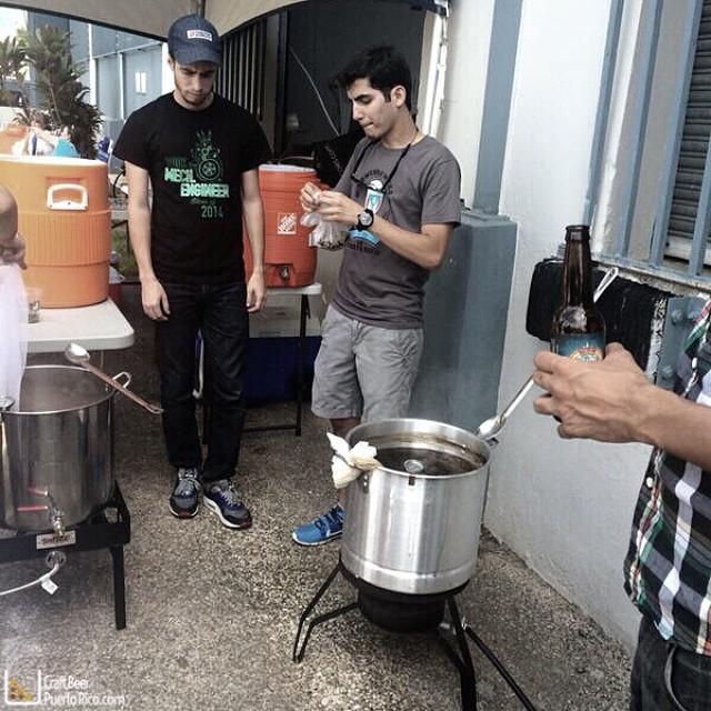 Brew Day de Homebrewers de Puerto Rico