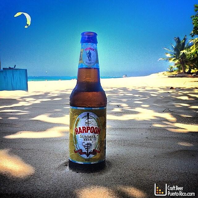Harpoon Summer Beer vía @manuhola en Instagram