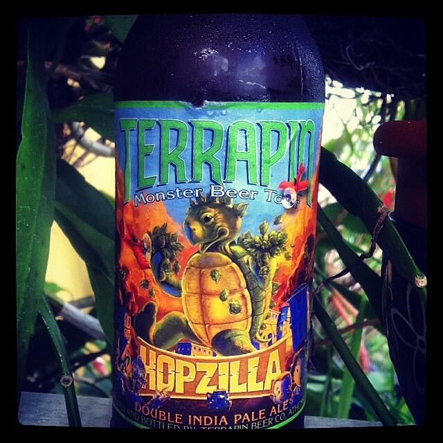 Terrapin Hopzilla Double IPA vía @lornajps en Instagram