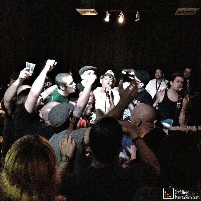 Negros Vivos en Bembelé Art Lounge en Ponce