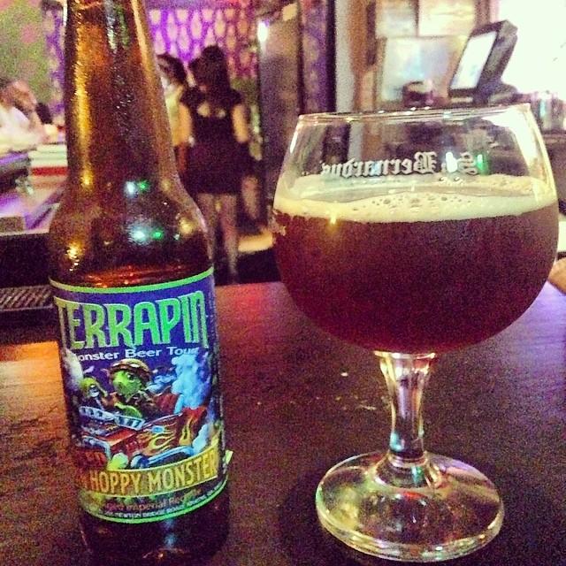 Terrapin Hoppy Monster vía @dehumanizer en Instagram