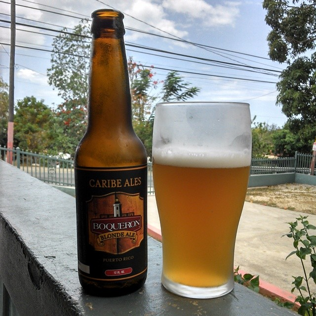 Boquerón Brewing Blonde Ale vía @cracker8110 en Instagram
