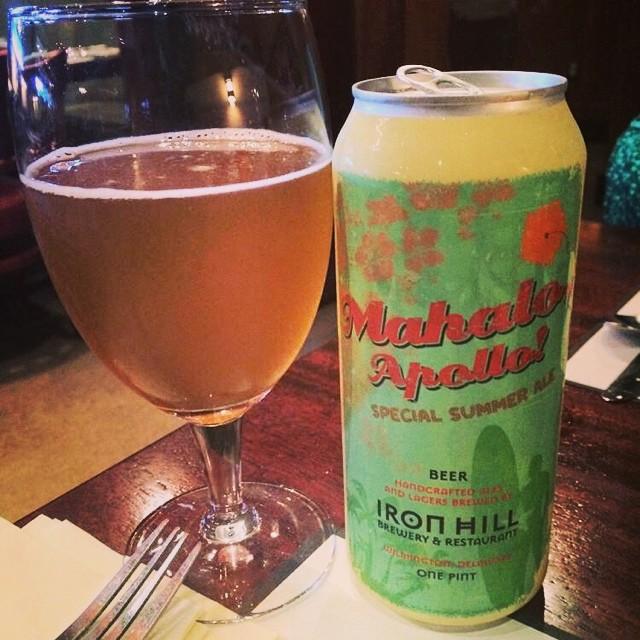 Mahalo Apollo Special Summer Ale vía @ramonesbrew en Instagram