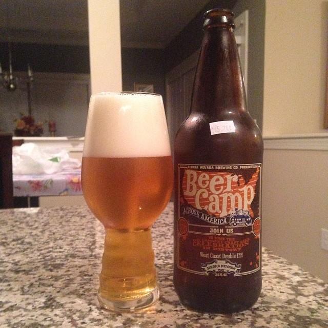 Sierra Nevada Beer Camp West Coast Double IPA vía @ericmcardona en Instagram