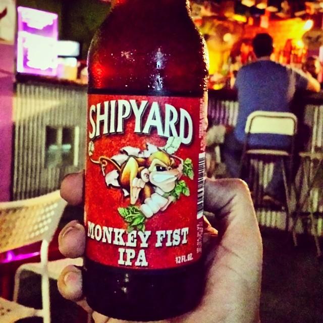 Shipyard Monkey Fist IPA vía @makiromusic en Instagram
