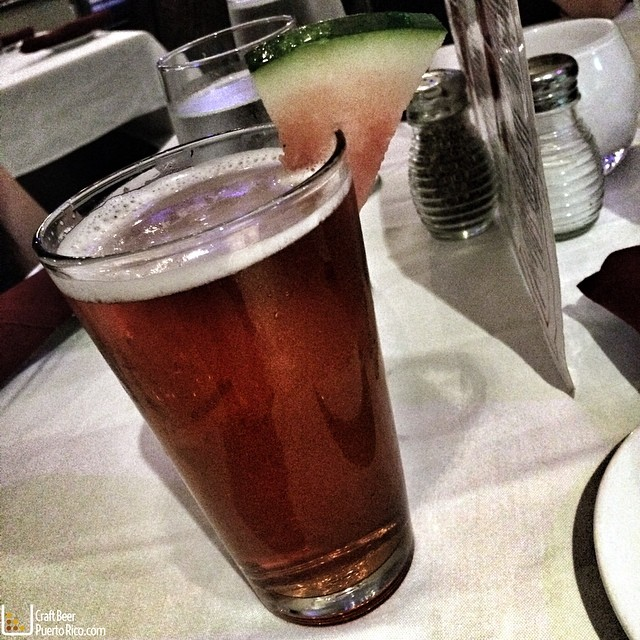 Watermelon Lager de Old Harbor Brewery