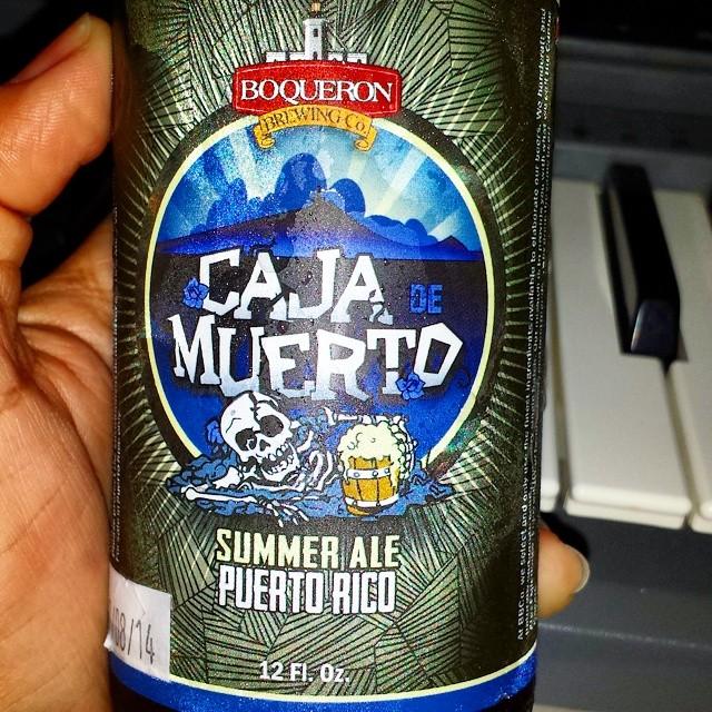 Caja de Muerto Summer Ale vía @makiromusi en Instagram