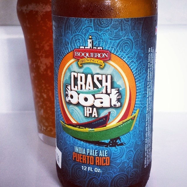 Boquerón Brewing Crash Boat IPA vía @makiromusic en Instagram