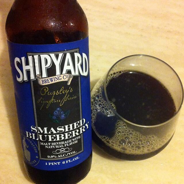 Shipyard Smashed Blueberry vía @apaman8 en Instagram