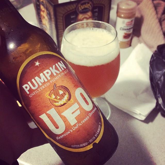 UFO Pumpkin vía @rafaluzzi en Instagram