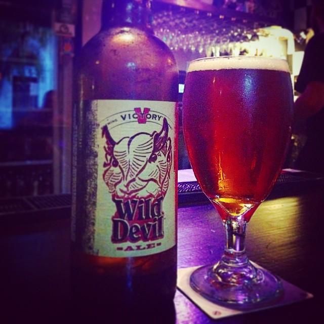 Victory Wild Devil Ale vía @dehumanizer en Instagram