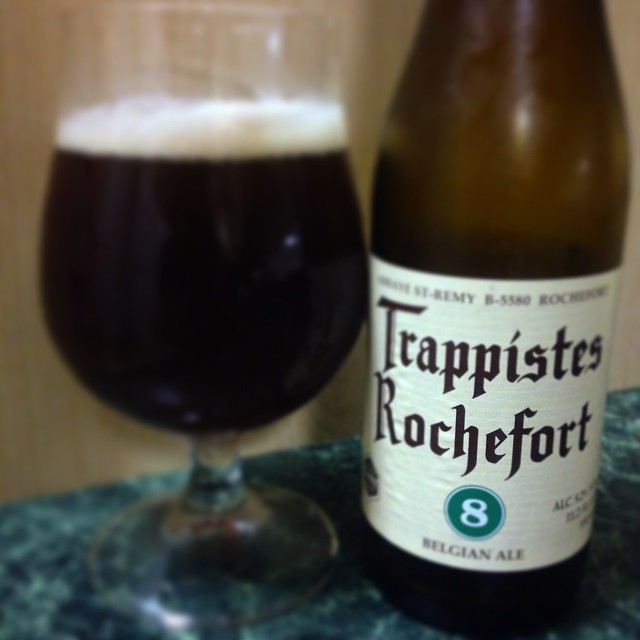 Trappistes Rochefort 8 vía @j_sanmurphy en Instagram