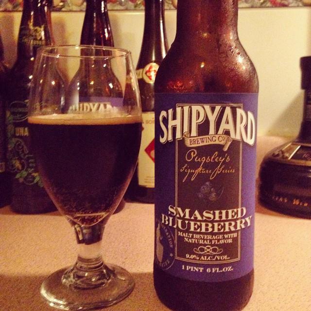 Shipyard Smashed Blueberry vía @dehumanizer en Instagram