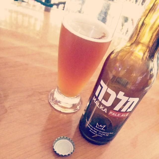 Malka Pale Ale de Israel vía @izqrdo en Instagram