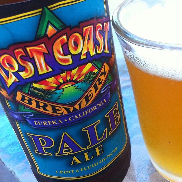 Lost Coast Pale Ale vía @apaman8 en Instagram
