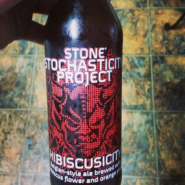 Stone Stochasticity Project Hibiscusity vía @craftbeerpro en Instagram